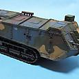 2009年 制作 Char de rupture Saint Chamond Saint Chamond tank